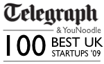 Telegraph top 100 startups