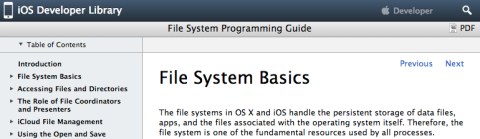 ios-file-system